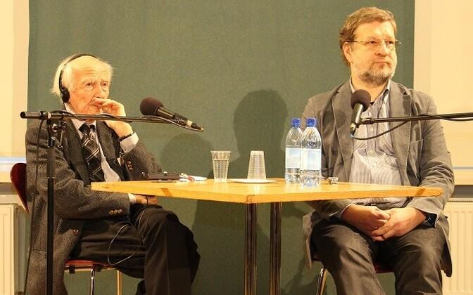 Zygmunt Bauman ja Rein Raud.