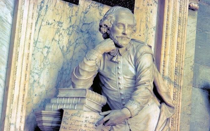 William Shakespeare monument Londonis.