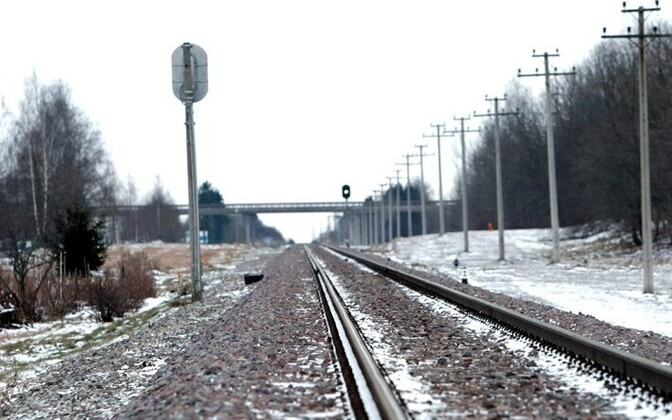 Railroad tracks. Photo is illustrative.