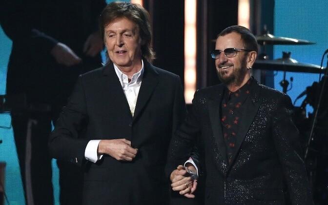 Paul McCartney ja Ringo Starr.