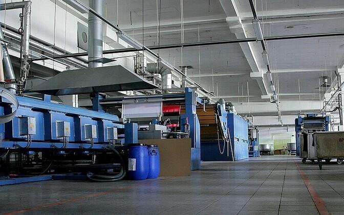 Tööstusettevõte Eestis.
