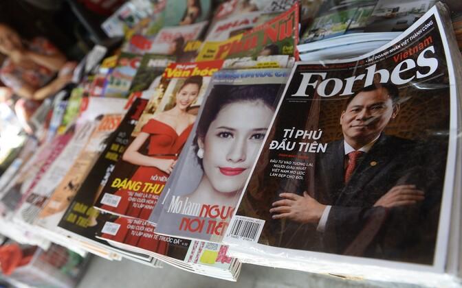 Ajakirja Forbes Vietnami verisoon.