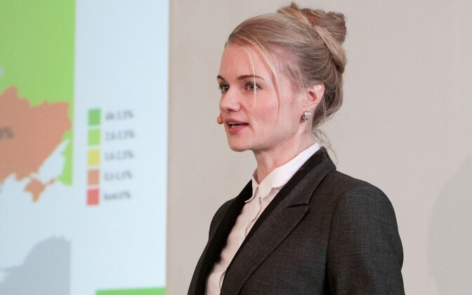 Mainor Business School economic analyst Ruta Arumäe.