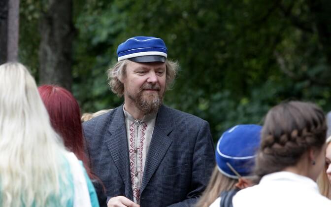 Hugo Treffneri Gümnaasiumi religiooniõpetaja Toomas Jürgenstein