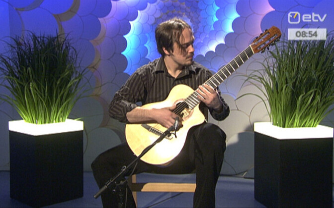 Kitarrist Andre Maaker