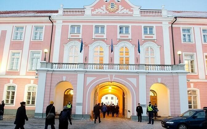 Riigikogu hoone.