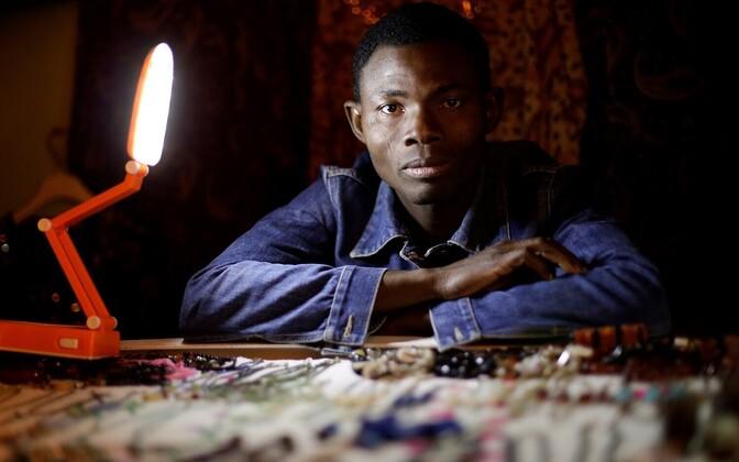 Beninist pärit võõrtööline Itaalias.