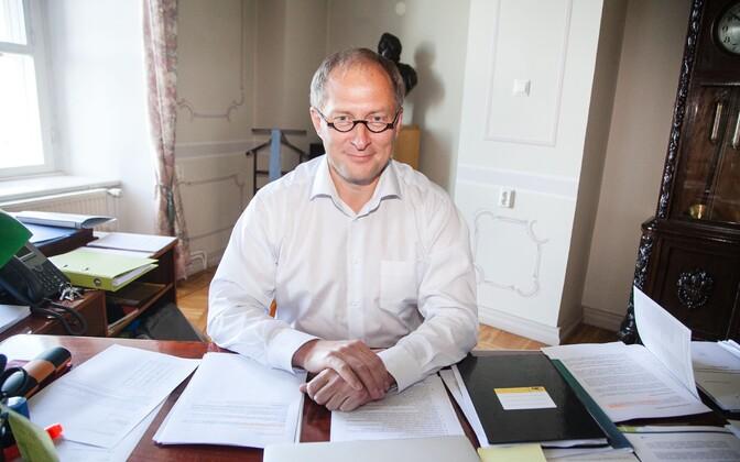 Tööandjate keskliidu juhatuse esimees Toomas Tamsar.