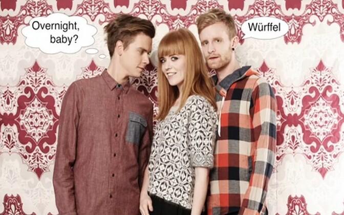 Ansambel Würffel koos Marvi Vallastega