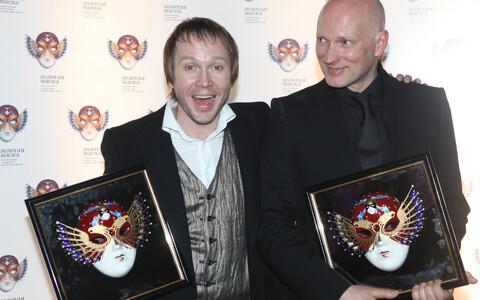 """В число премий Алвиса Херманиса входят две премии """"Золотая Маска""""."""