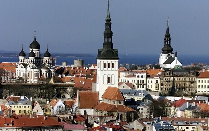 Vaade Tallinna vanalinnale.