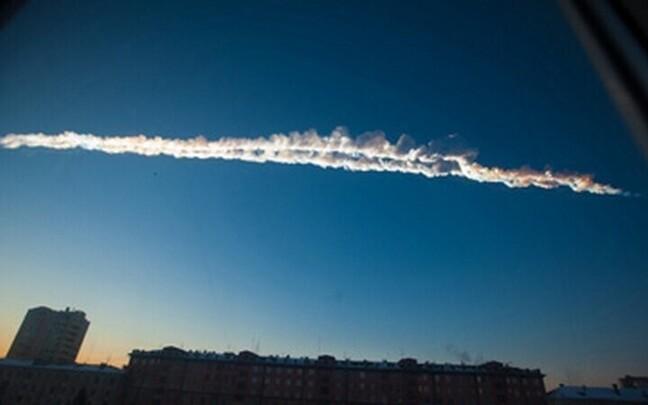 Tšeljabinski meteoriit tekitas purustava lööklaine