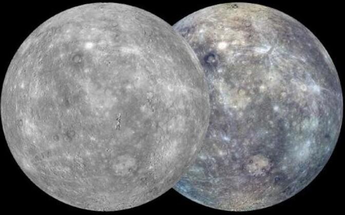 Merkuur on nooruses tublisti kahanenud