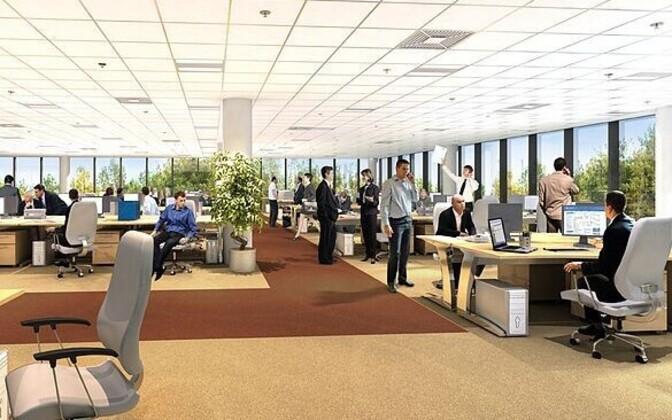 Avatud kontorid soodustavad viiruste levikut, kannatab ka töötajate privaatsus