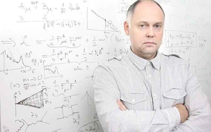 Tartu Ülikooli kõrge energia füüsika professor Martti Raidal.