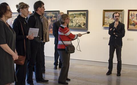 Eero Epner räägib maalidest