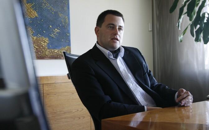 Swedbank Eesti CEO Robert Kitt.