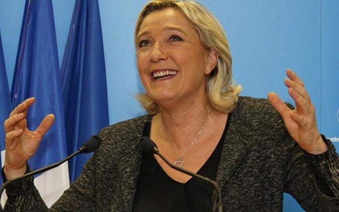 Rahvusrinde liider Marine Le Pen