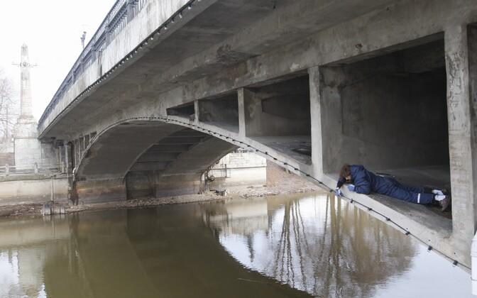 Võidu sild Tartus.
