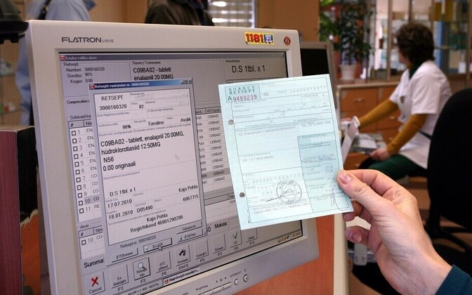 Estonia has long since switched from paper to digital prescriptions.