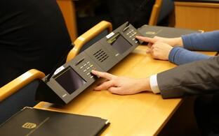 Tallinna volikogu hääletamissüsteem.