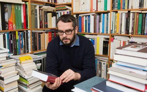 Ajaloolane Marek Tamm.