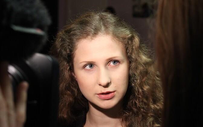 Pussy Rioti liige Maria Aljohhina.
