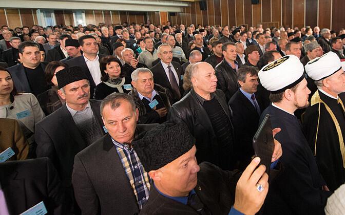 Krimmitatarlaste kurultai 29. märtsil Bahtšisarais