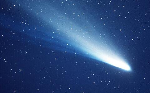 Halley komeet 1986. aastal.