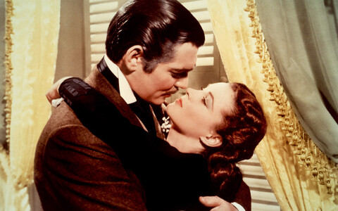 Clark Gable ja Vivien Leigh