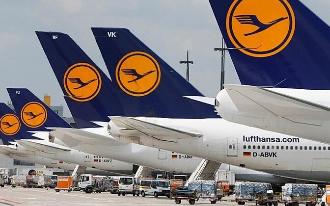 Lufthansa lennukid