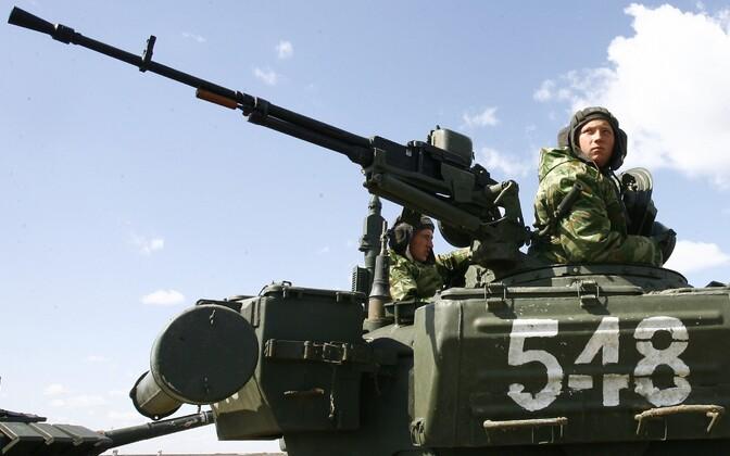 Vene sõjaväelased Volgogradis toimunud õppustel.