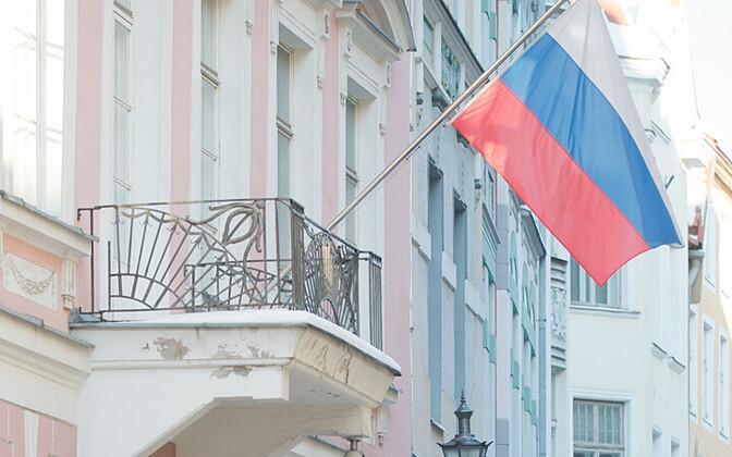 Russian Embassy in Tallinn.