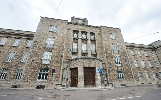 Main building of the Maritime Academy