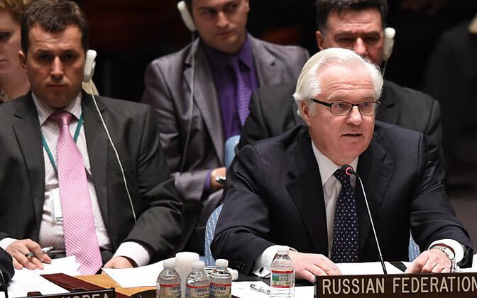 Venemaa alaline esindaja ÜRO-s Vitali Tšurkin