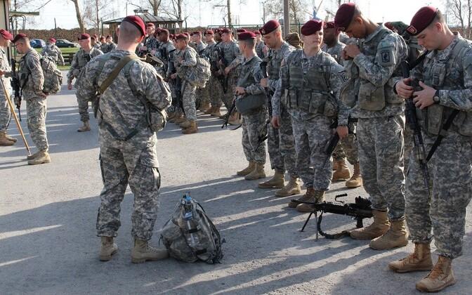 USA sõdurid Paldiskis.