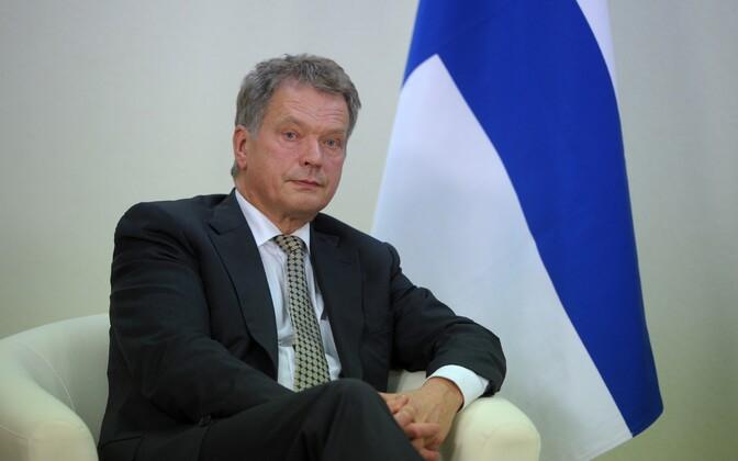 Finnish President Sauli Niinistö