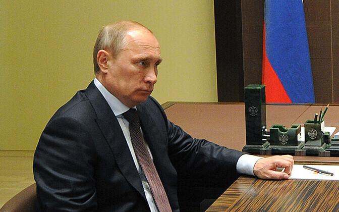 Venemaa president Vladimir Putin 14. mail oma Sotši residentsis