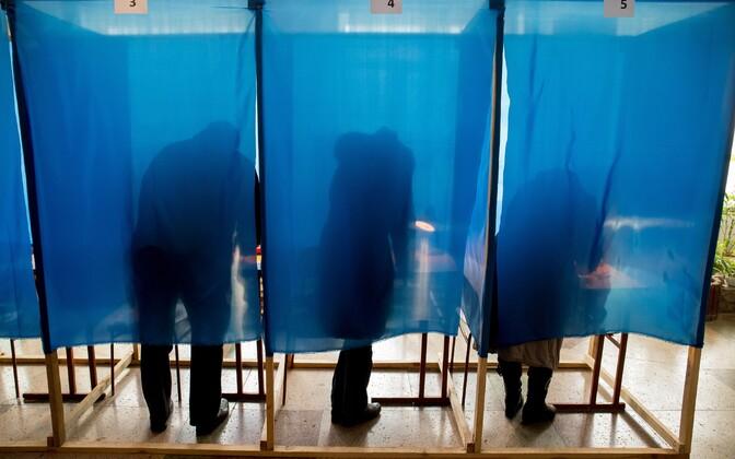 Hääletamine valimistel.