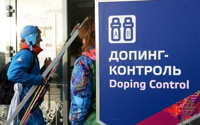 Dopingukontroll Sotši olümpiamängudel