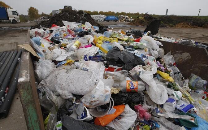 Aastal 2020 peab Eesti saatma ringlusse 50 protsenti jäätmetest.