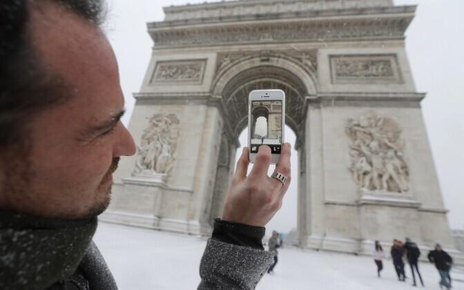 Triumfikaar Pariisis.