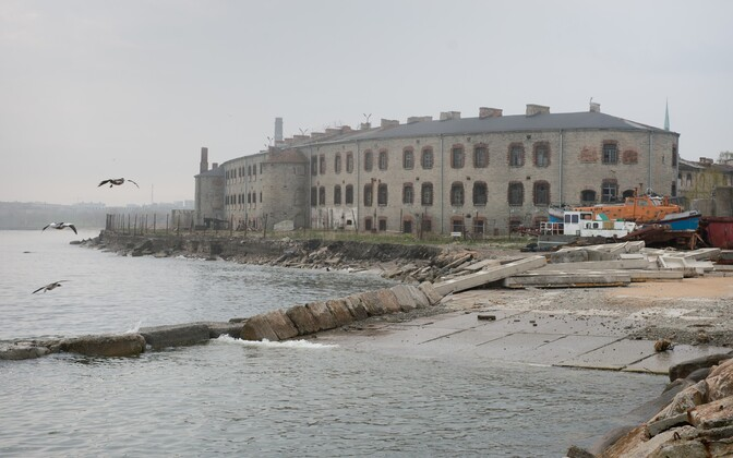 The Patarei Sea Fortress-Prison complex.