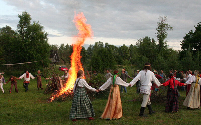 A Midsummer celebration in the Estonian countryside. Photo is illustrative.