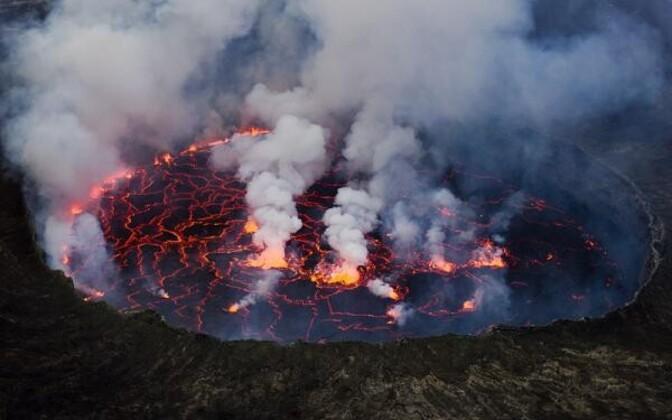 Satelliit valvab vulkaane
