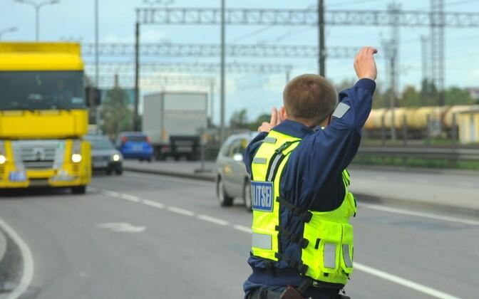 Liikluspolitsei.