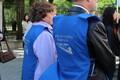 Puuetega inimesi esindavate organisatsioonide meeleavaldusega olid liitunud ka ametiühingute esindajad.