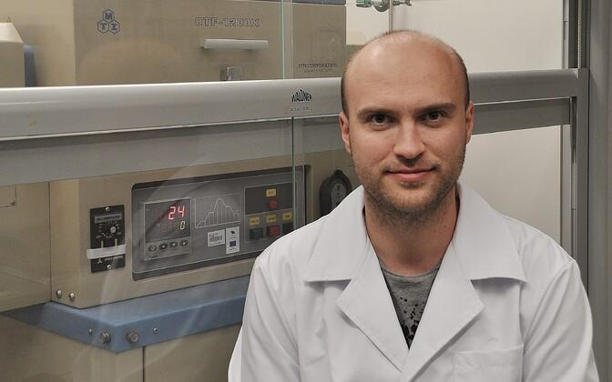 Tartu ülikooli keemia doktorant Indrek Tallo