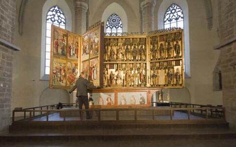 Rode altar Niguliste muuseumis