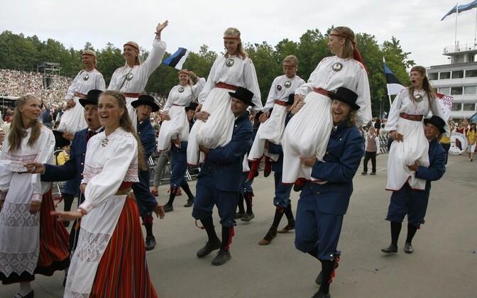 Laulupeo rongkäik, 2009